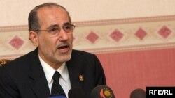 مستشار الأمن الوطني السابق ورئيس حزب الوسط موفق الربيعي يزور أربيل، 10 تموز 2009