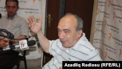 Azerbaijan - Azeri historian Eldar Ismayilov, Baku, 18Jun2013.