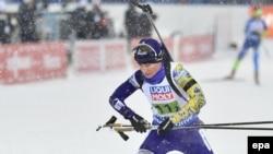 Українська біатлоністка Віта Семеренко (на фото) вийде на спринт однією з останніх, у неї 91-й номер