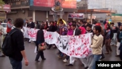 Ethnic Baluch Pakistanis march to demand justice for missing persons.