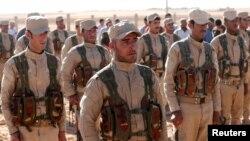 Араб-курд альянси (Сурия демкоратик кучлари) аскарлари.