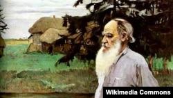 Lev Tolstoy. Nesterovun çəkdiyi portret