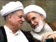 Mehdi Karrubi and Akbar Hashemi Rafsanjani