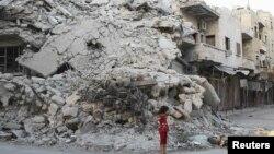 Sirija, grad Ariha, septembar 2013.