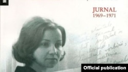 """Detaliu de pe coperta volumului """"Creştetul gheţarului. Jurnal 1969-1971"""", Editura Humanitas."""