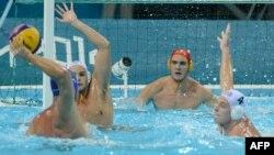 Susret Srbije protiv Australije u četvrtfinalu turnira u Londonu, 8. avgusta 2012.