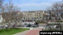 Севастополь, вид на площадь Нахимова
