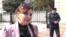 Azerbaijan - Russian citizens vote in Russian embassy