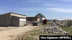 Дома в одном из жилмассивов в Бишкеке.