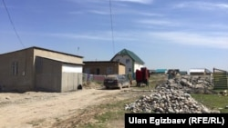 Новостройка на окраине Бишкека.
