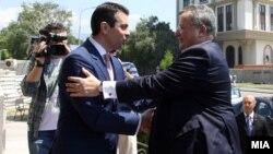 Средба на министрите за надворешни работи на Македонија и Грција, Никола Попоски и Никос Коѕијас.