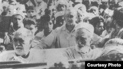 باچا خان او صحمد خان اڅکزی په يوه جلسه کې