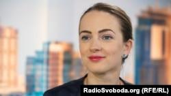 Олександра Матвійчук, голова Центру громадянських свобод. Киїів, 1 серпня, 2018 року