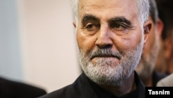 Iranian General Qasem Soleimani (file photo)