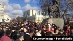 Акция в Краснодаре, 15 января 2016 года
