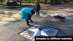 Профілактичні роботи на меморіалі «Вічний вогонь» у Сімферополі