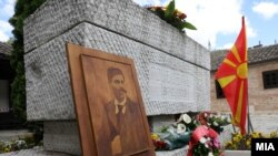 """Одбележување на 117-годишнината од загинувањето на Гоце Делчев во """"Свети Спас"""" во Скопје"""