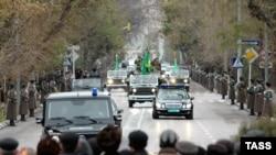 Последний путь Туркменбаши