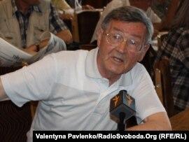 Іван Дзюба під час презентації нової книги