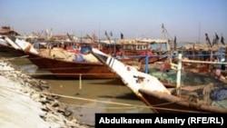 مرفأ قوارب الصيد في الفاو (من الارشيف)