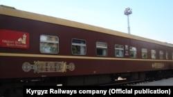Поезд «Orient Silk Road Express», фото пресс-службы «Кыргыз темир жолу».
