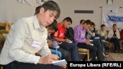 La cursurile proiectului sub egida OSCE