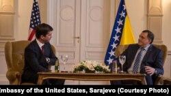 Eric George Nelson i Milorad Dodik