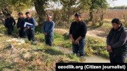Фото «наказанных» Мирзаевым фермеров. Снимок распространяли в 2018 года в социальных сетях.