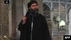 Абу-Бакр аль-Багдади объявляет о создании халифата летом 2014 г.