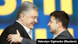 Poroshenko has said the transition will be smooth and that Zelenskiy can count on him for assistance.