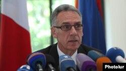 Посол Франции в Армении Анри Рено