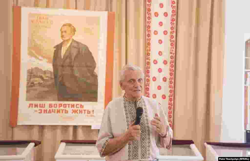 Внук Івана Франка – Роланд Тарасович розповідає про подружнє життя бабусі та дідуся