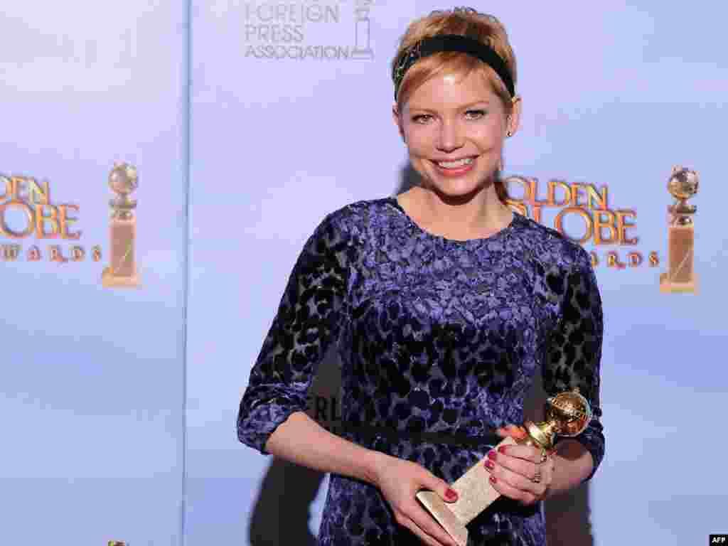 بهترین بازیگر نقش اول زن: میشل ویلیامز برای نقش آفرینی در «هفته من با مریلین»