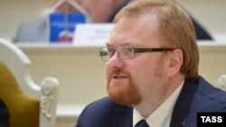 Депутат Виталий Милонов. Санкт-Петербург, 17 сәуір 2013 жыл.
