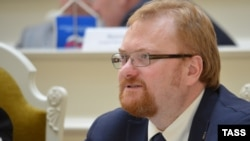 "St. Petersburg lawmaker Vitaly Milonov says morally bankrupt values often portrayed in Western TV ""work on a subconscious level"" and are seeping into the national psyche."
