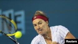 Российская теннисистка Светлана Кузнецова