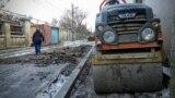 Ремонт дорог в Симферополе, ноябрь 2018 года