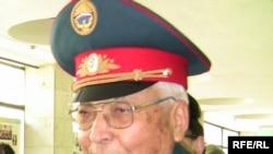 Major General Dair Asanov in May of this year