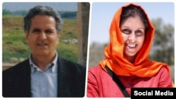 The families of two British-Iranian dual-nationals jailed in Iran are calling on the UK government to do more to secure their release. From Right: Nazanin Zaghari-Ratcliffe, left, and Kamal Foroughi.