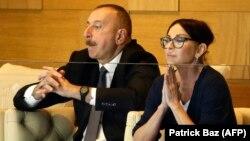 Ильхам Алиев и его супруга Мехрибан Алиева