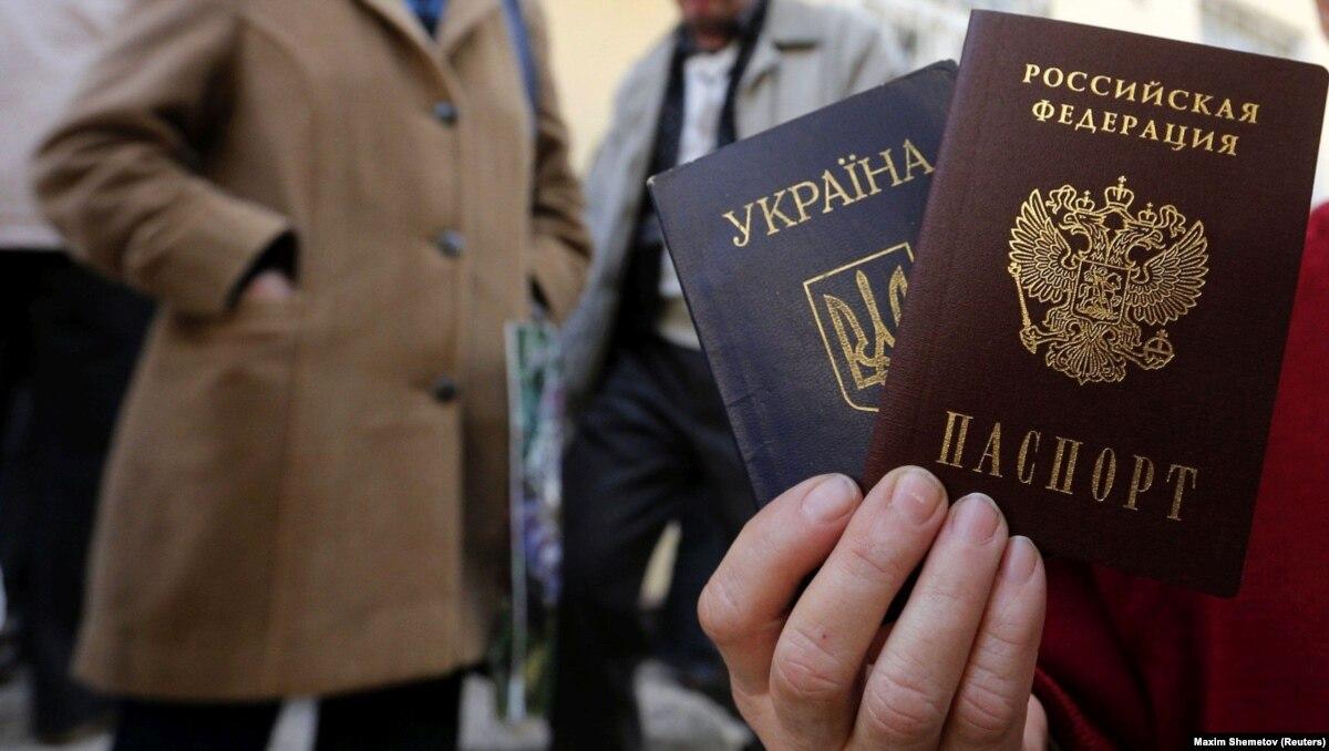 Россия утверждает, что выдала жителям оккупированных частей Донбасса 25 тысяч паспортов