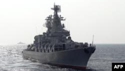 Жерорта теңізіндегі ресейлік әскери кеме