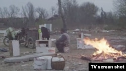 """Berlinale festivalında """"Dərinlik iki"""" filmindən görüntü (serb rejissoru Ognjen Glavonic)"""