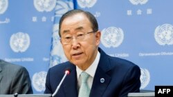 UN Secretary General Ban Ki-moon (file photo)