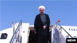 حسن روحانی روز چهارشنبه به مقصد داووس در سوئیس پرواز کرد