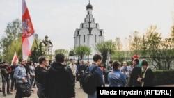 У Менску прайшоў адменены напярэдадні «Чарнобыльскі шлях». ФОТА