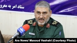 Iranian Brigadier General Hassan Shahvarpour (file photo)