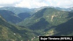 Territori ndërmjet Kosovës e Malit të Zi