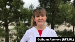 Галина Храпатая родилась в Акмолинске, который через год стал Целиноградом. Астана, 14 июня 2018 года.