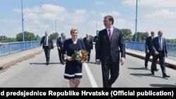 Kolinda Grabar-Kitarović i Aleksandar Vučić